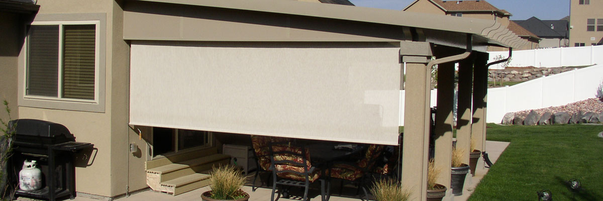 motorized sun screen and sunshade