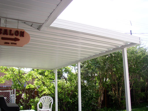 Traditional Super 12 Patio Roof
