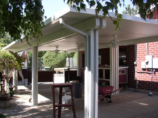 Freestanding Solid and Lattice Patio Covers by Sunsational Awnings