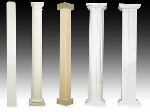 Patio Cover Custom Column Options