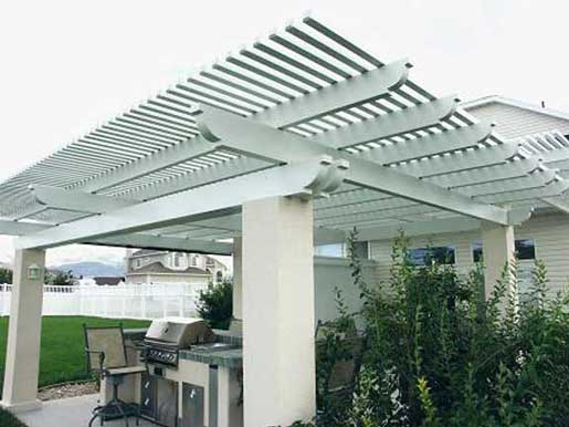 Pergola Lattice Patio Covers by Sunsational Home Improvement